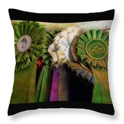 Best In Show Colors Throw Pillow