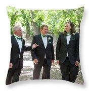 Best Men Throw Pillow