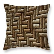 Best Of Napa Wines Throw Pillow