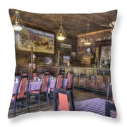 Best Resturant In Town Throw Pillow