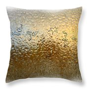 Bestiaire Jaune Or / Golden Bestiary Throw Pillow