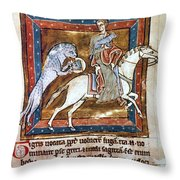 Bestiary: The Tiger Throw Pillow