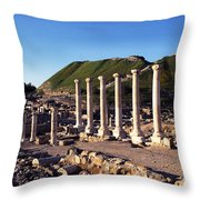 Beth-shean Israel Throw Pillow