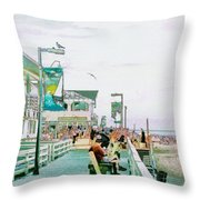 Bethany Beach Circa 2004 Throw Pillow