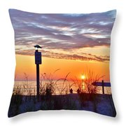 Sunrise In Paradise 2 Throw Pillow