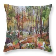 Bethany Woods Throw Pillow