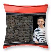Bethlehem - A Child From Bethlehem Throw Pillow