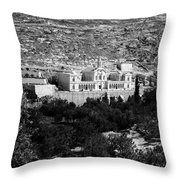 Bethlehem - Artas Convent Year 1900 To 1925 Throw Pillow