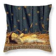 bethlehem - Baby Jesus  Throw Pillow