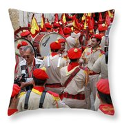 Bethlehem - Christmas Festival 2009 Throw Pillow