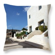 Bethlehem - Convention Palace South Entrance Throw Pillow