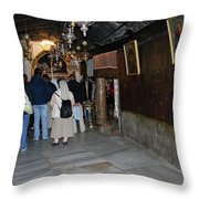 Bethlehem - Grotto Of Nativity 2009 Throw Pillow