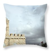Bethlehem - Milk Grotto Cross Throw Pillow