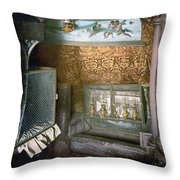 Bethlehem - Nativity Church 1890 Throw Pillow