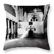 Bethlehem - Nativity Church Year 1887 Throw Pillow