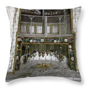 Bethlehem - Nativity Star 1890 Throw Pillow