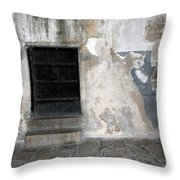 Bethlehem - The Black Door Throw Pillow