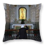 Bethlehem - The Rosary Throw Pillow