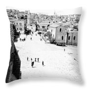 Bethlehem 1889s Throw Pillow