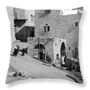 Bethlehem Homes Throw Pillow