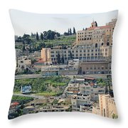 Bethlehem In Spring Throw Pillow