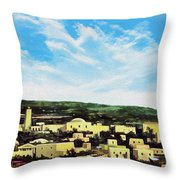 Bethlehem New Day Throw Pillow