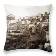 Bethlehem Old Main Street Throw Pillow