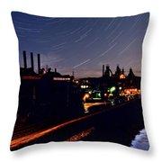Bethlehem Steel Throw Pillow