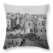 Bethlehem Year 1890 Throw Pillow