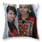 Bethlehem Young Girls Throw Pillow