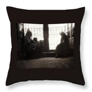 Bethlehemites At Home Throw Pillow
