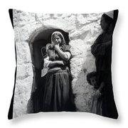 Bethlehemites Women 1900s Throw Pillow