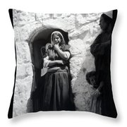 Bethlehemites Women 1900s Throw Pillow