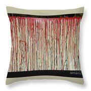 Betrayal Throw Pillow by Jacqueline Athmann
