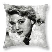 Betsy Palmer Vintage Hollywood Actress Throw Pillow