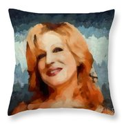 Bette Midler Collection - 1 Throw Pillow