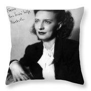 Betty Smith (1896-1972) Throw Pillow