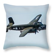 Betty's Dream Banking Throw Pillow