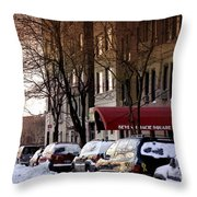 Betty's Place Throw Pillow