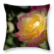 Bettys Rose Throw Pillow