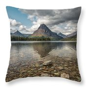 Between A Rock And A Beautiful Place Throw Pillow
