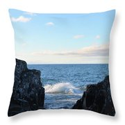 Between The Crack 2 Throw Pillow