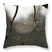 Between The Twigs Throw Pillow