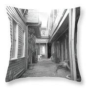 Between The Walls Throw Pillow