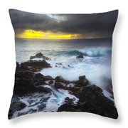 Between Two Storms Throw Pillow