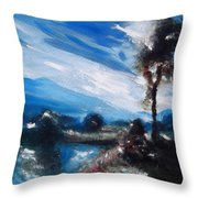 Betws-y-coed Throw Pillow