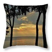 Beulah Sunset Throw Pillow