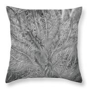 Beutiful Weed Throw Pillow