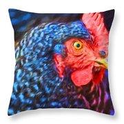 Beverlys Chicken Throw Pillow