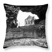 Beware The Warehouse Throw Pillow